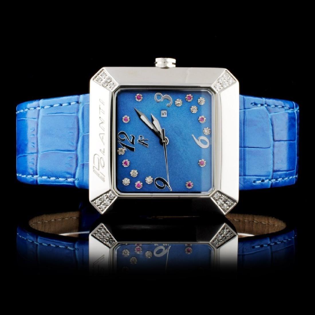 Polanti SS Tuscany Diamond Wristwatch