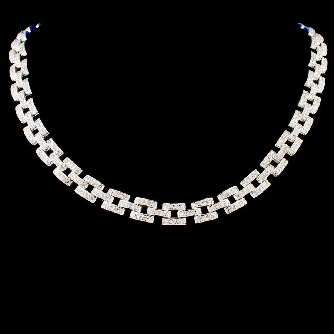 14K Gold 4.81ctw Diamond Necklace