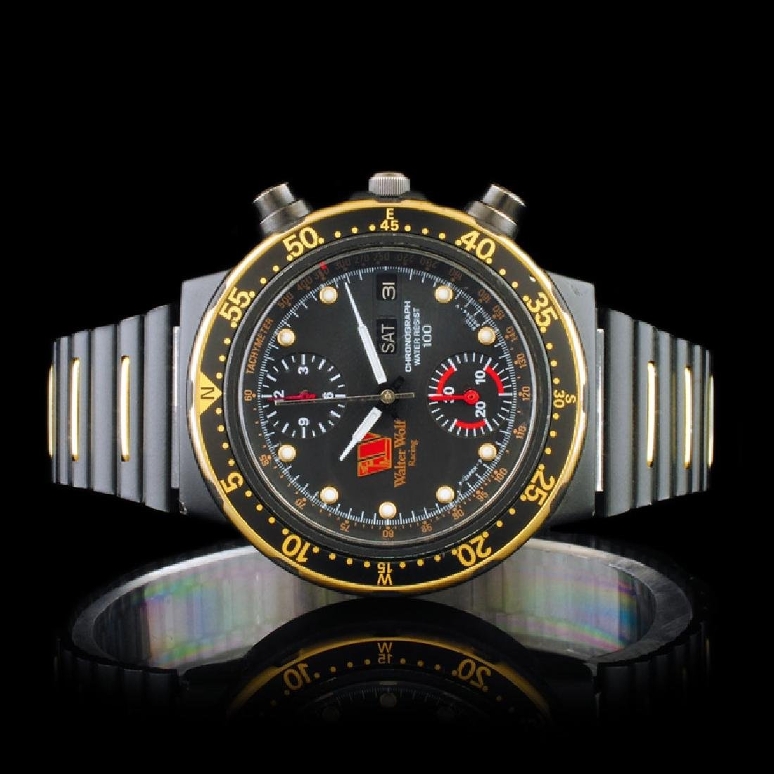 "CITIZEN ""Walter Wolf"" Racing Chronograph 36mm Wa"
