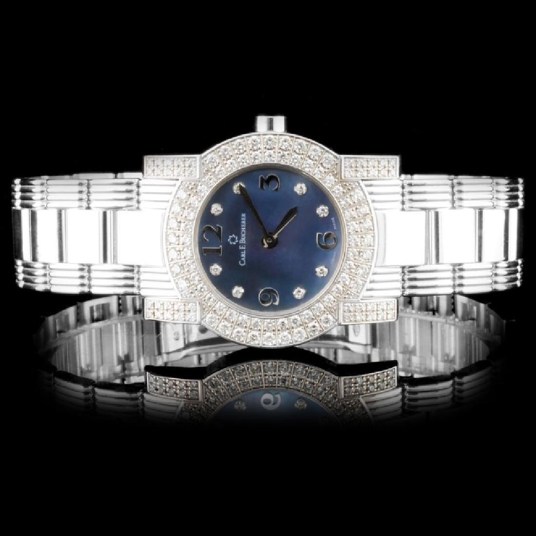 18K Gold Carl F. Bucherer Pathos Ladies Watch