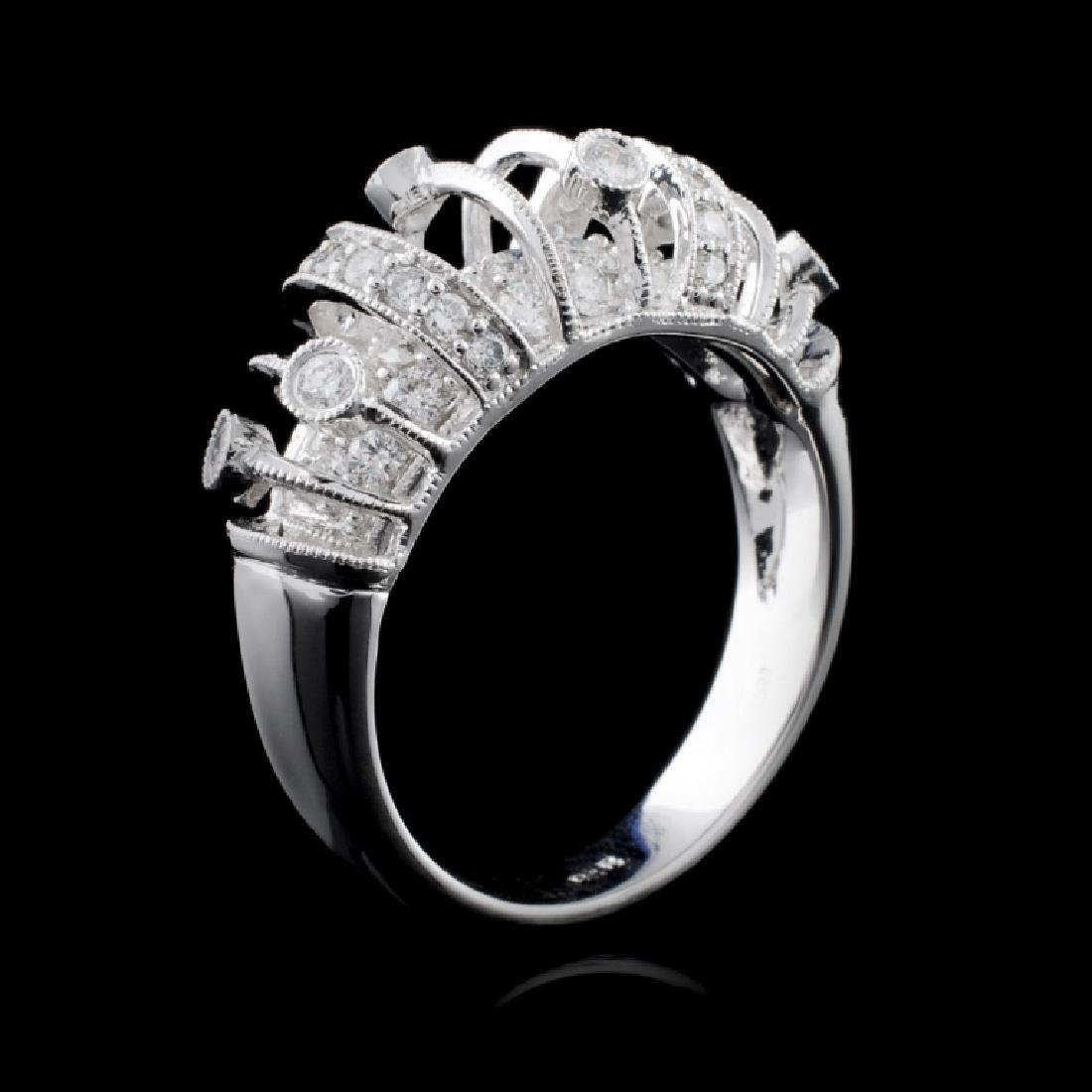 18K White Gold 0.89ct Diamond Ring