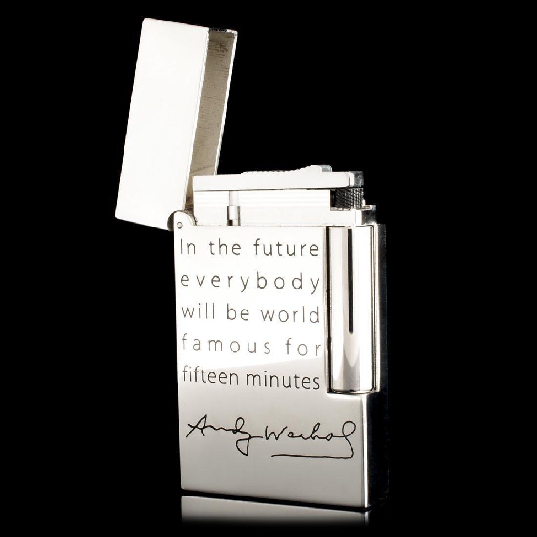 St Dupont Andy Warhol Lighter