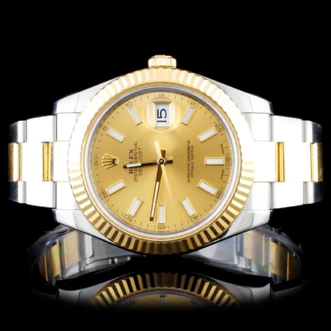 Rolex Two-Tone 41MM DateJust II Wristwatch