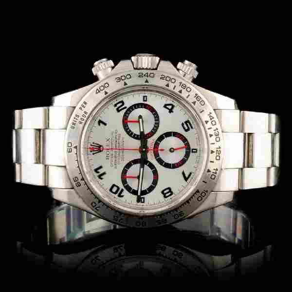 Rolex Daytona 18K White Gold Wristwatch