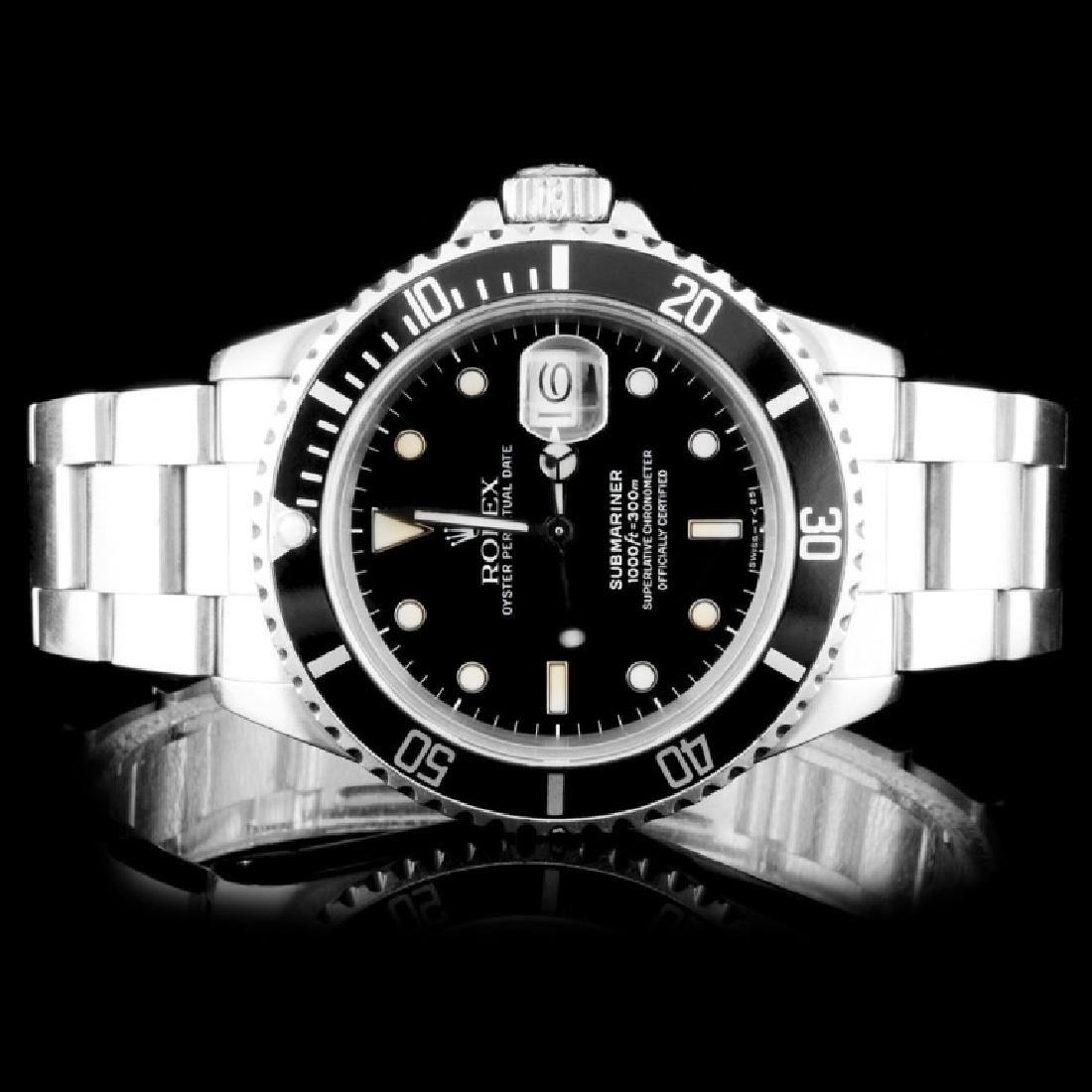 Rolex SS Submariner 40MM Wristwatch