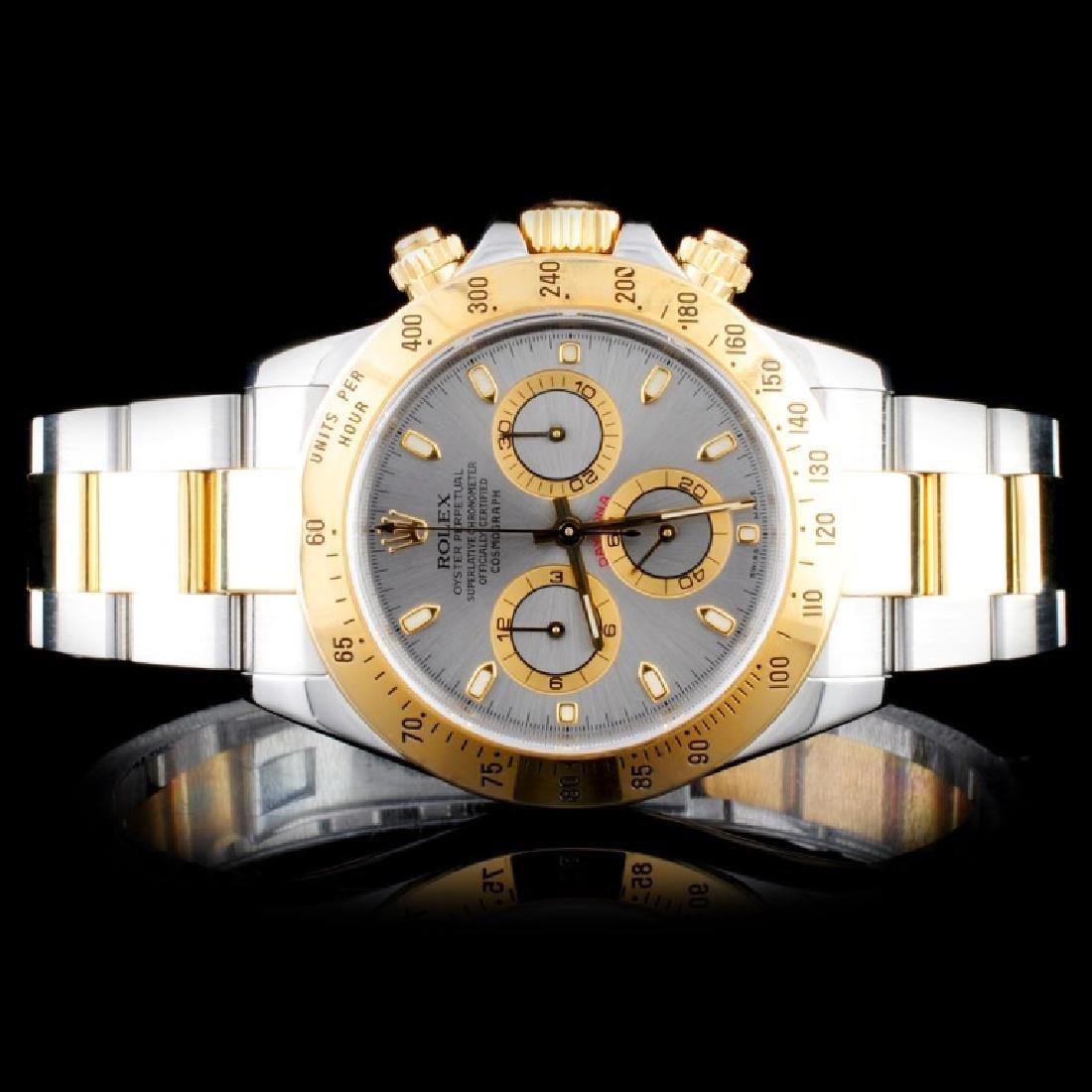 Rolex Daytona 18K YG/SS 40MM Wristwatch