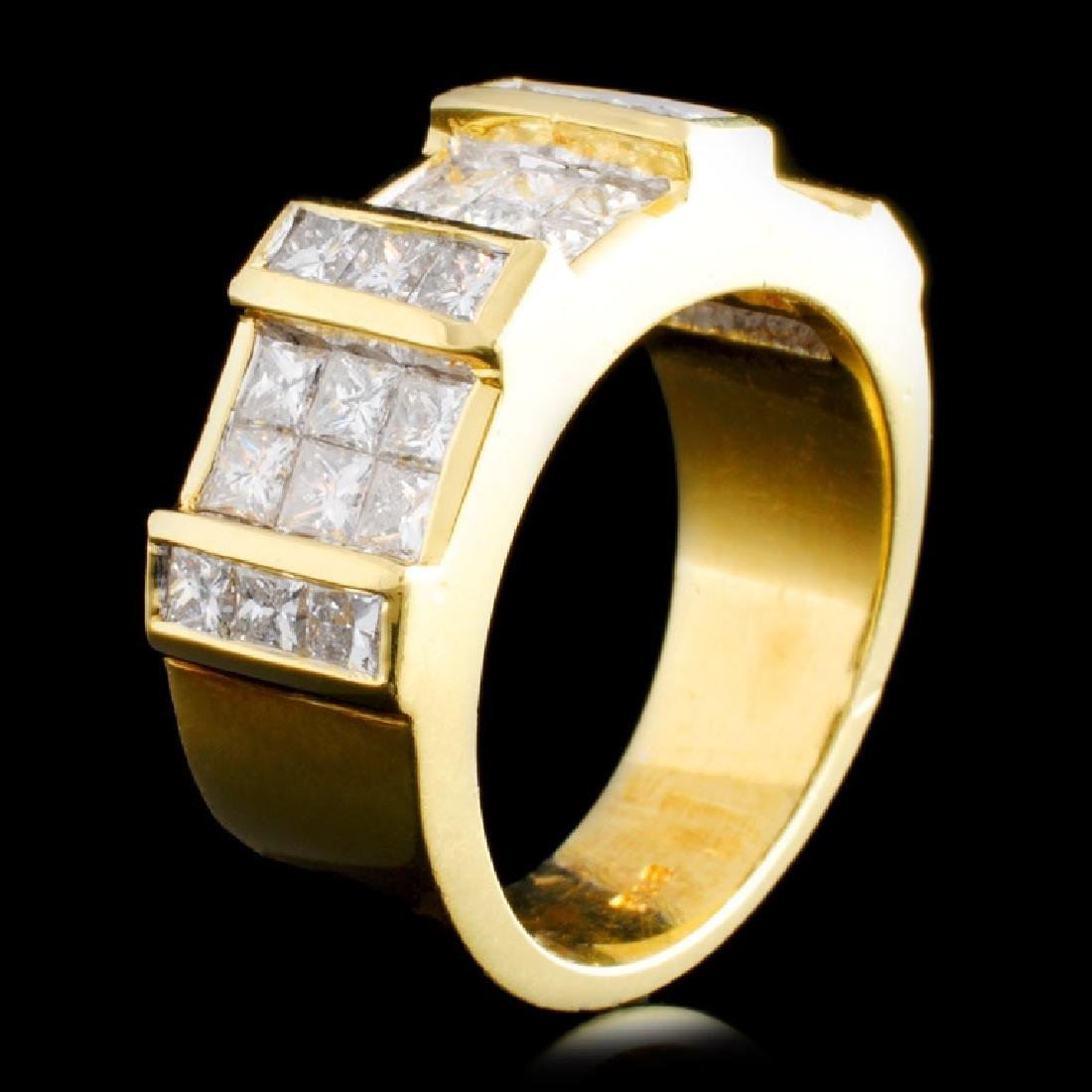 18K Gold 1.98ctw Diamond Ring
