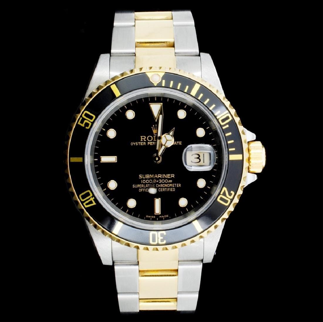 Rolex Submariner 18K & Stainless Steel 40MM Watch