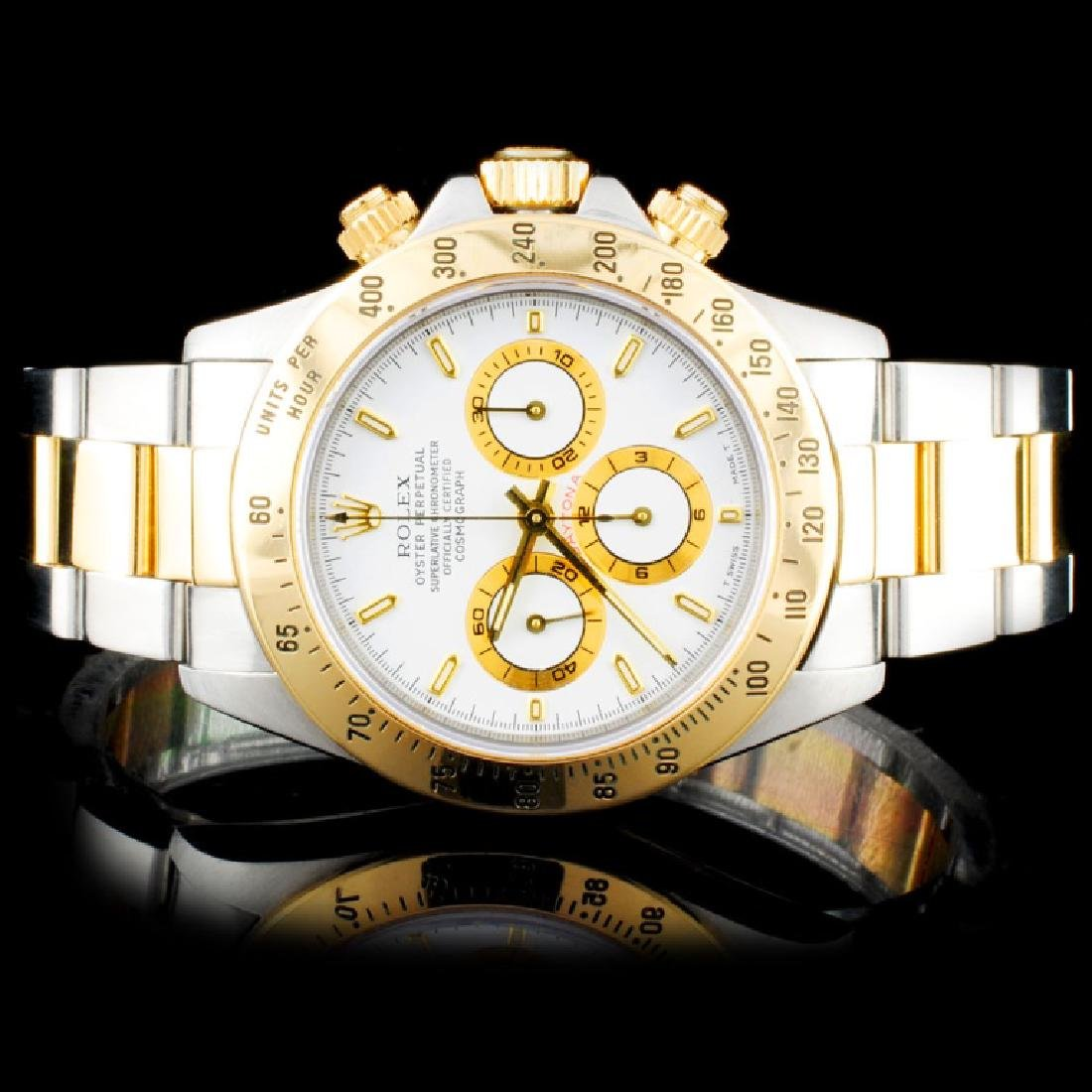 Rolex TwoTone Daytona Zenith Wristwatch