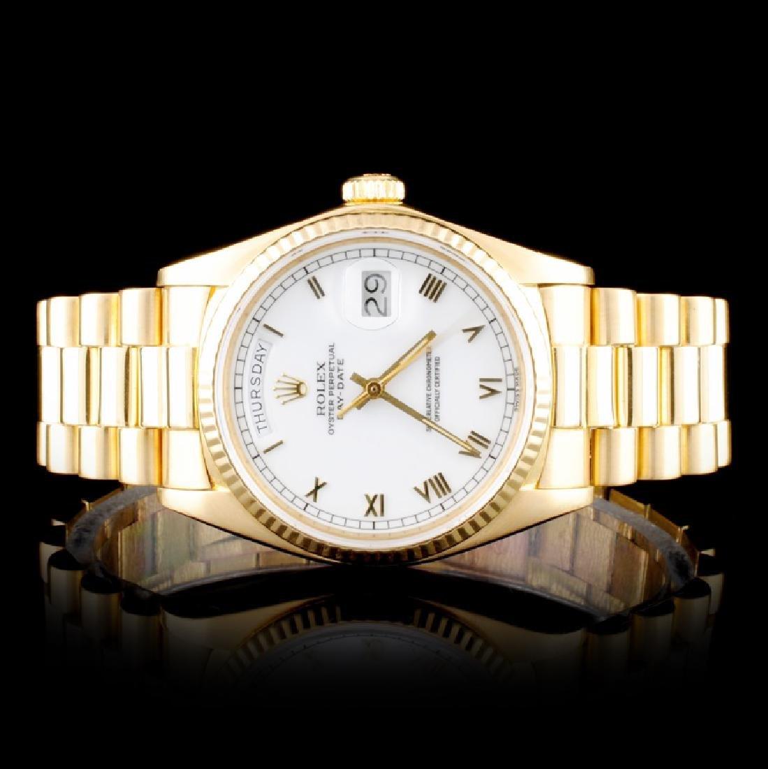 Rolex 18K YG Day-Date 36MM Wristwatch
