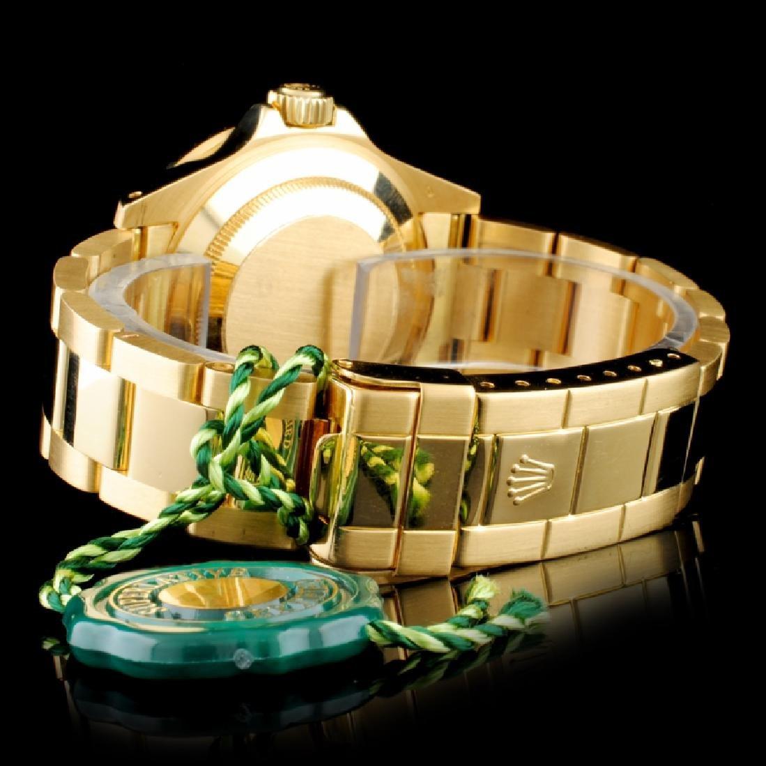 Rolex Submariner 16618 18K Gold 40mm Wristwatch - 5