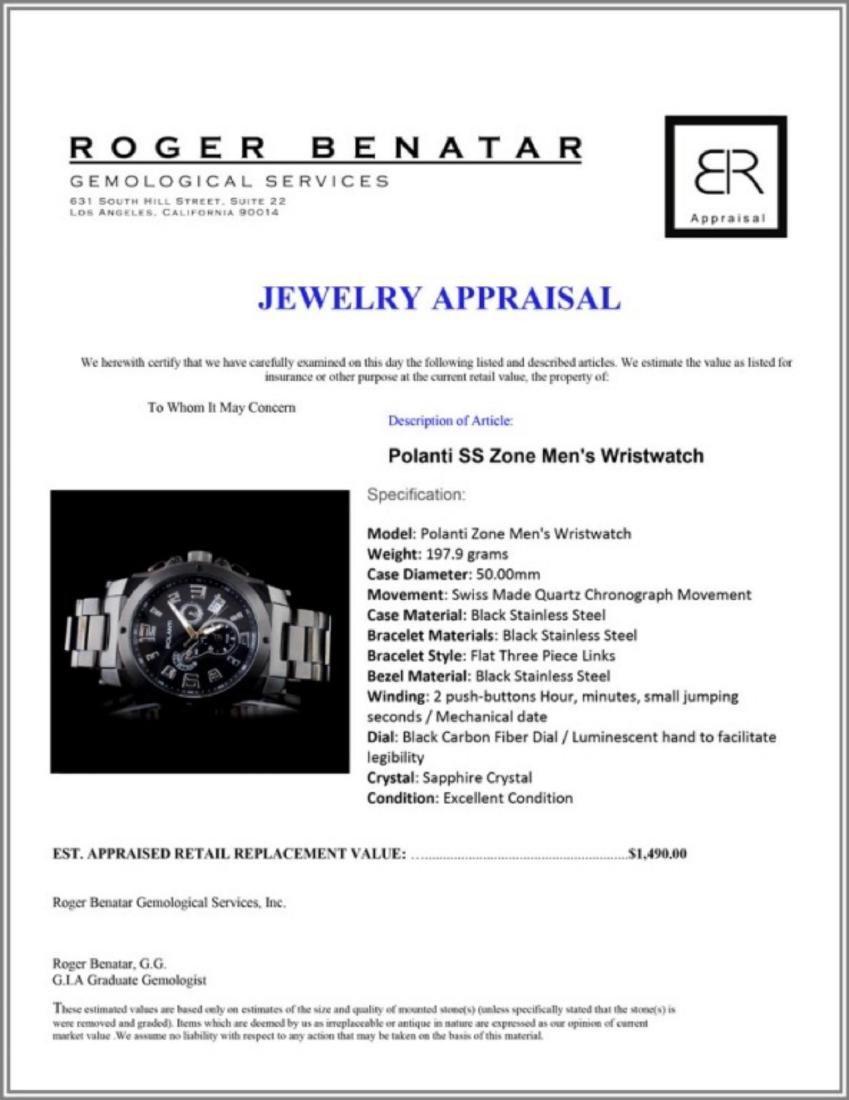 Polanti SS Zone Men's Wristwatch - 4