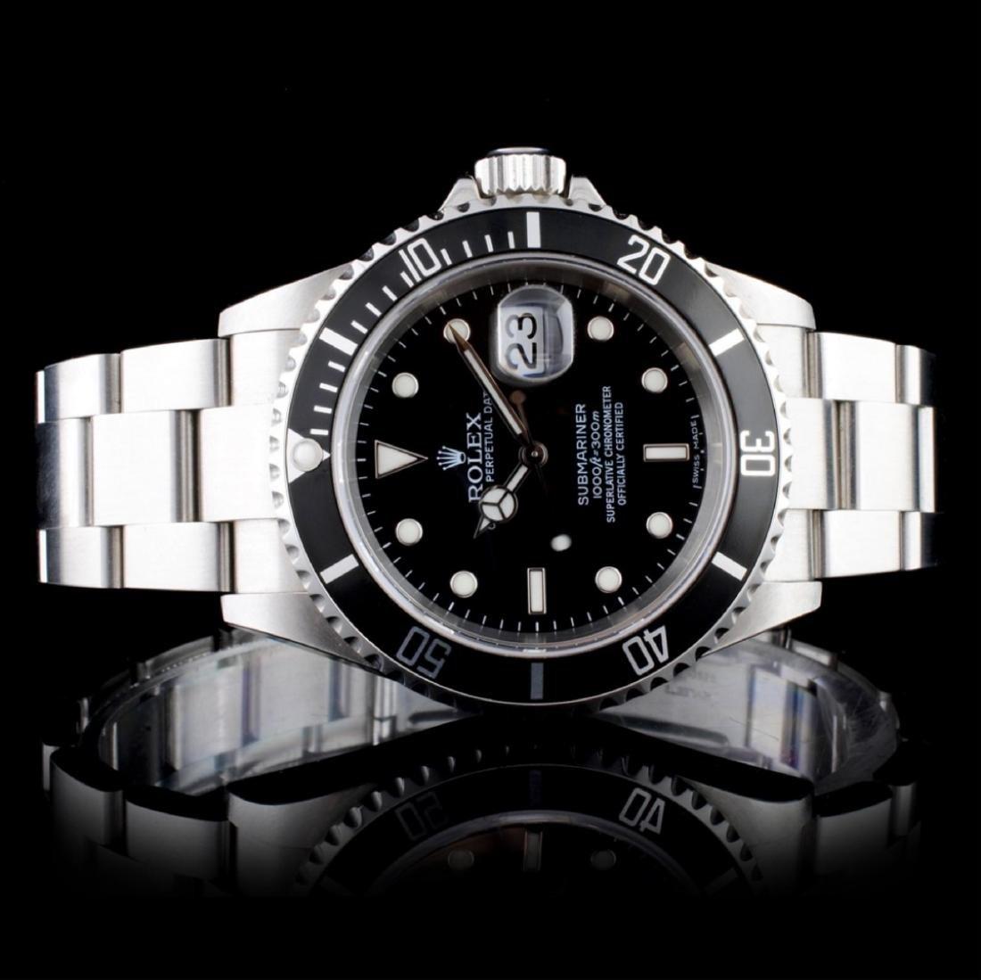 Rolex Submariner Stainless Steel Wristwatch