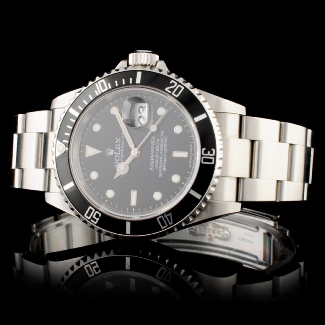 Rolex Submariner Stainless Steel Wristwatch - 2