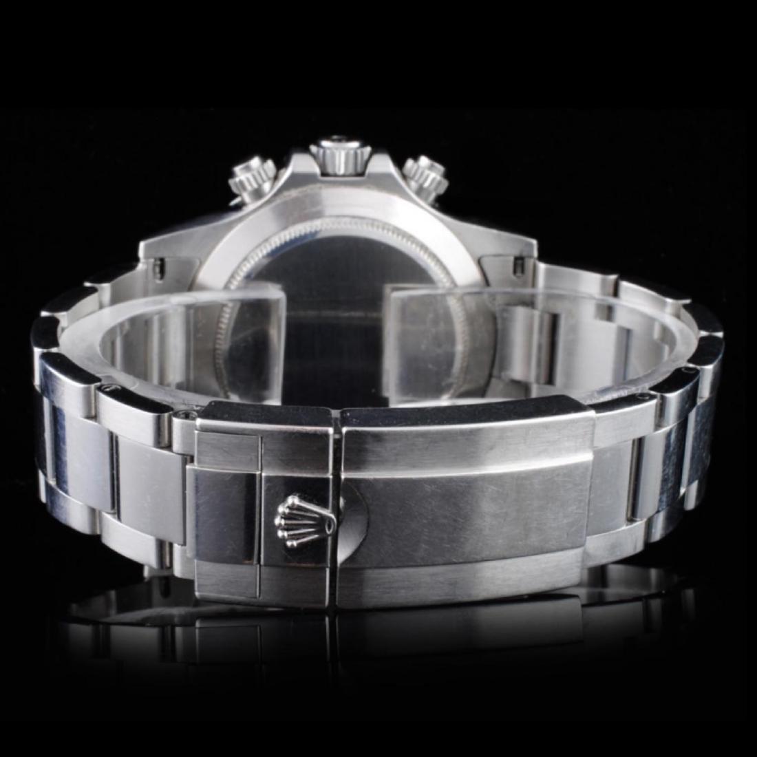 Rolex Daytona Stainless Steel Wristwatch - 3