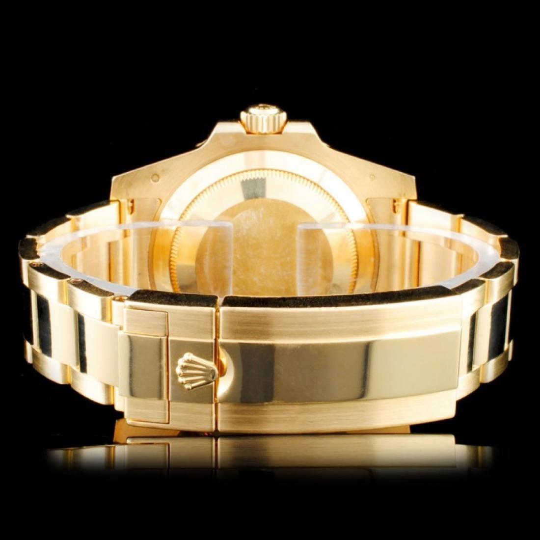 Rolex 18K YG Submariner Men's Watch - 3