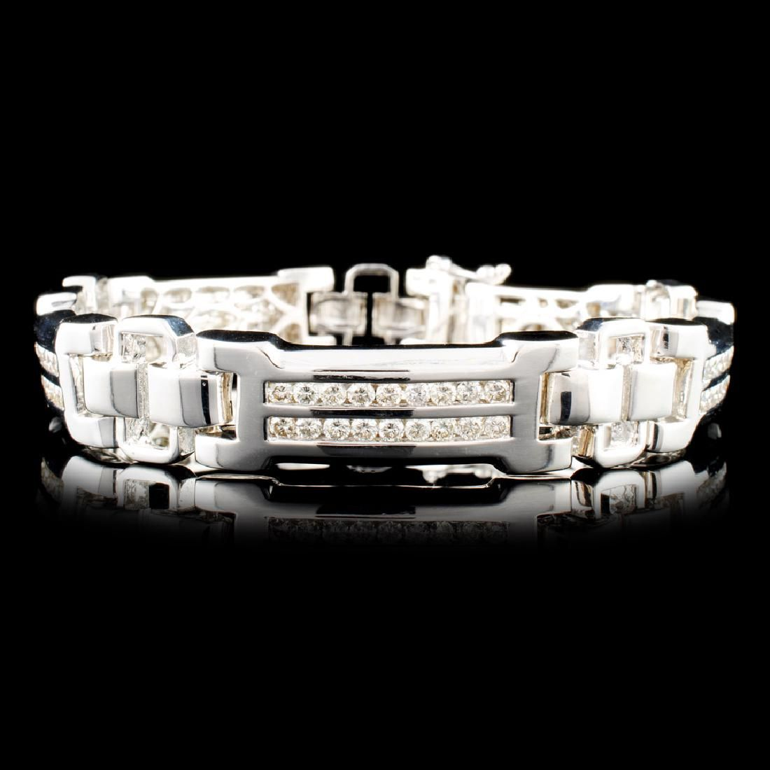 14K Gold 4.41ctw Diamond Bracelet