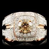 18K Gold 189ctw Diamond Ring