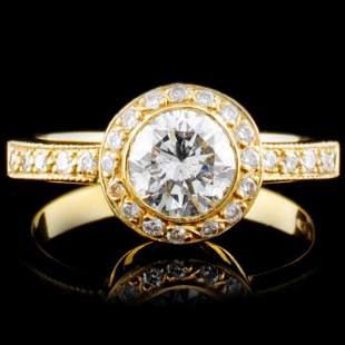 18K Gold 115ctw Diamond Ring