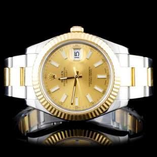 Rolex TwoTone 41MM DateJust II Wristwatch