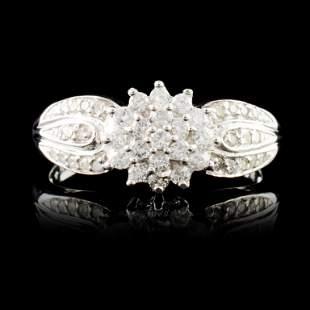 14K Gold 071ctw Diamond Ring