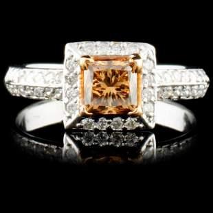 14K Gold 107ctw Fancy Color Diamond Ring