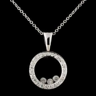 14K Gold 020ctw Diamond Pendant