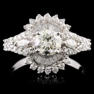 18K Gold 155ctw Diamond Ring