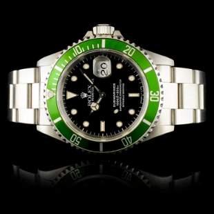 Rolex Submariner Stainless Steel 40MM Wristwatch