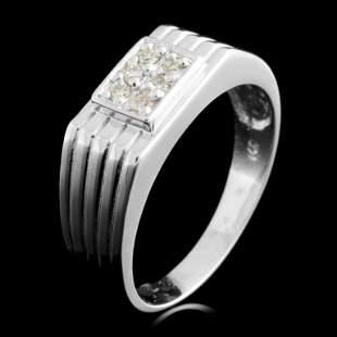 14K Gold 011ctw Diamond Ring