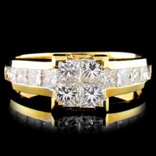 18K Gold 150ctw Diamond Ring