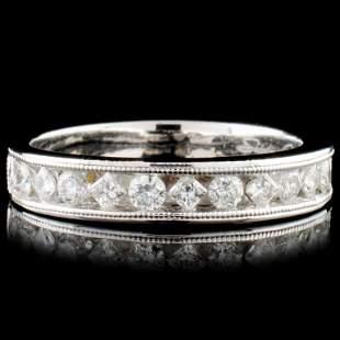 14K Gold 063ctw Diamond Ring