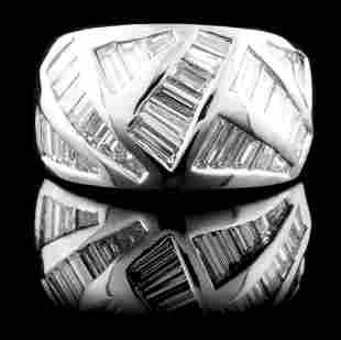 18K Gold 173ctw Diamond Ring