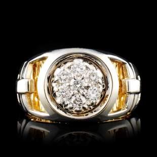 14K Gold 056ctw Diamond Ring