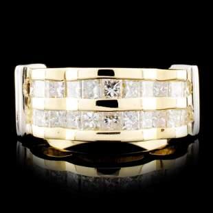14K Gold 098ctw Diamond Ring