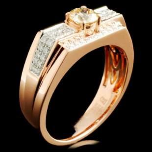 14K Gold 093ctw Diamond Ring
