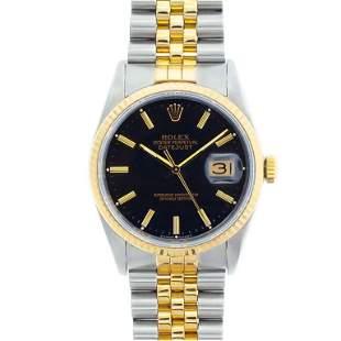 Rolex DateJust YGSS Jubilee Wristwatch