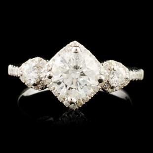 18K Gold 140ctw Diamond Ring