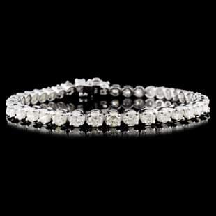 14K Gold 700ctw Diamond Bracelet