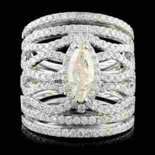 14K Gold 258ctw Diamond Ring