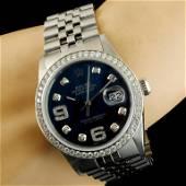 Rolex DateJust 1.35ctw Diamond 36MM Wristwatch