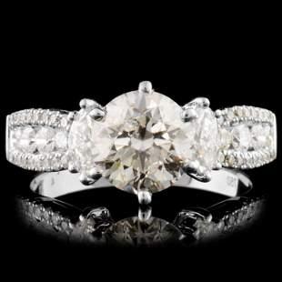18K Gold 215ctw Diamond Ring