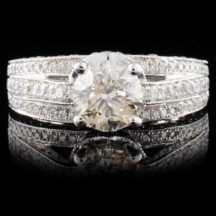 18K White Gold 265ctw Diamond Ring