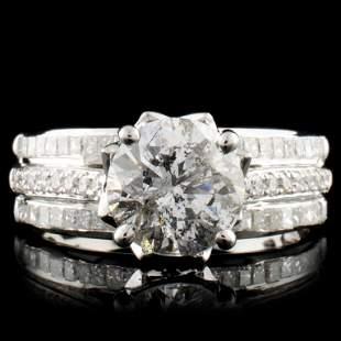 14K Gold 273ctw Diamond Ring