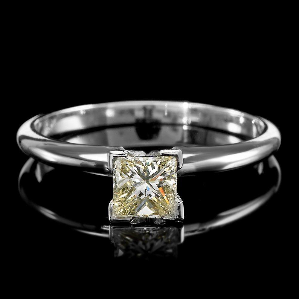 14k White Gold 0.54ct Diamond Ring