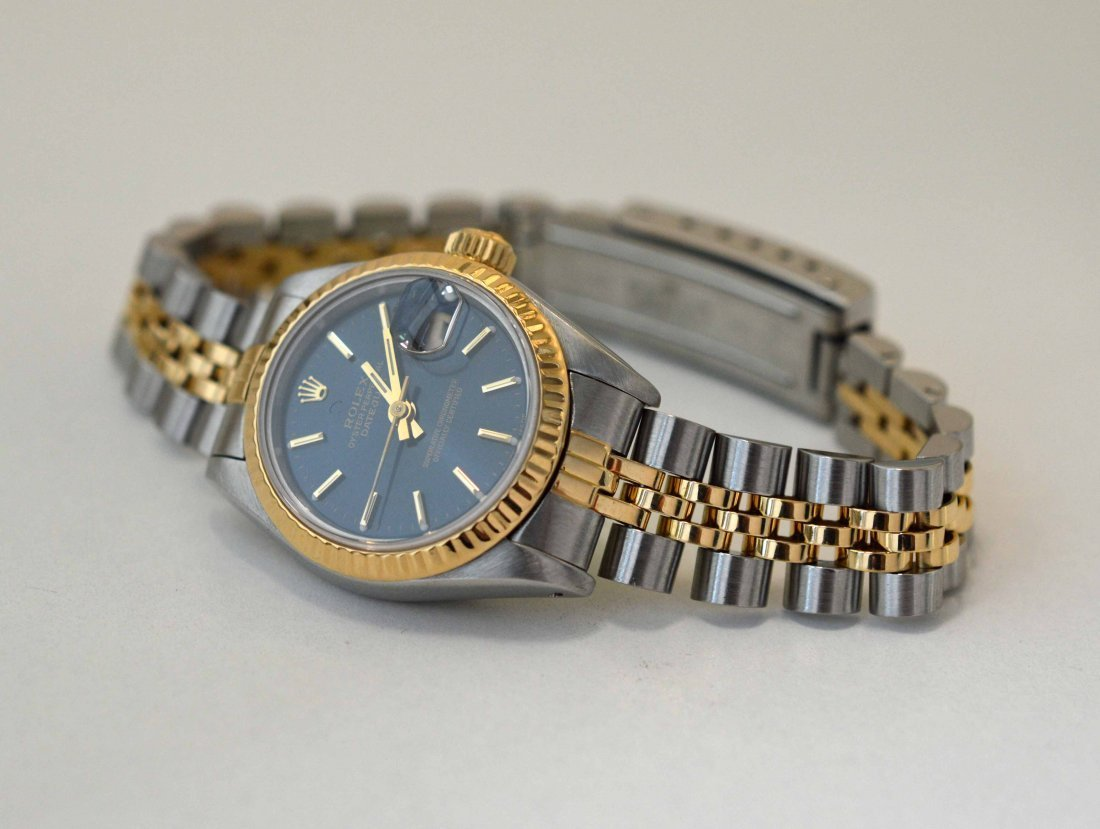 Genuine ROLEX Two-Tone Ladies Oyster Perpetual