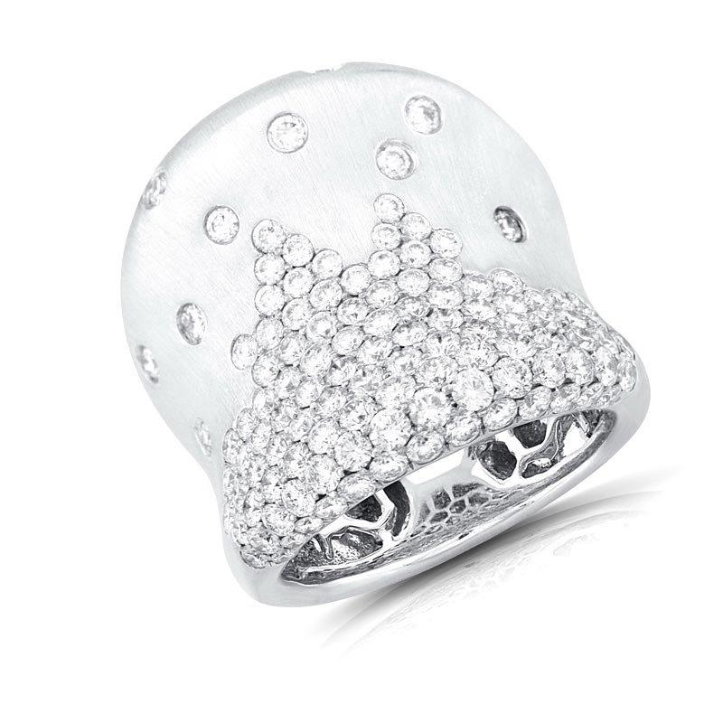 18k White Gold 3.33ct Diamond Ring