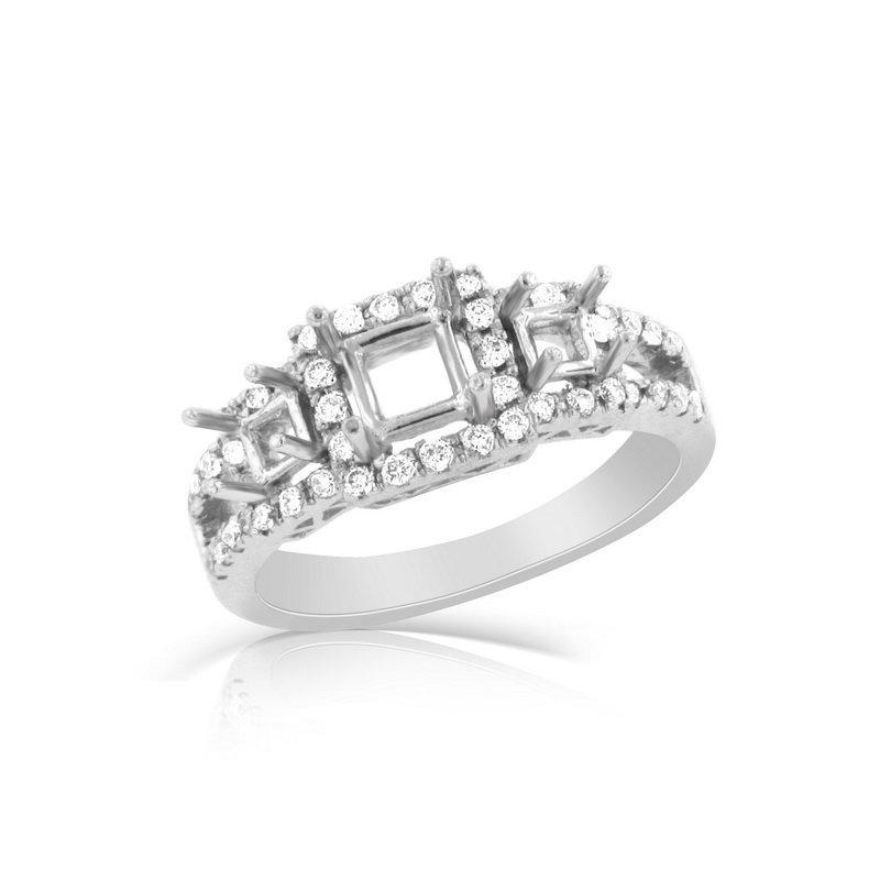 18k White Gold 0.39ct Diamond Ring