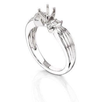 Platinum 0.22ct Diamond Ring