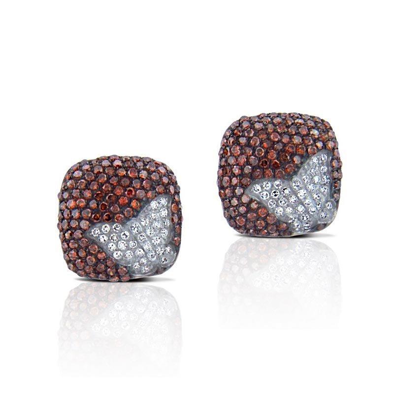 14k Gold .85ct Diamond Earrings
